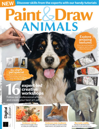 Paint & Draw: Animals First Edition