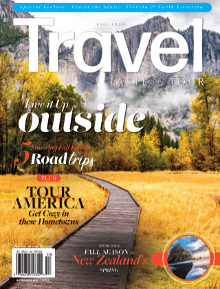 Travel, Taste and Tour Fall 2020