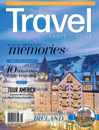 Travel, Taste and Tour Winter 2020