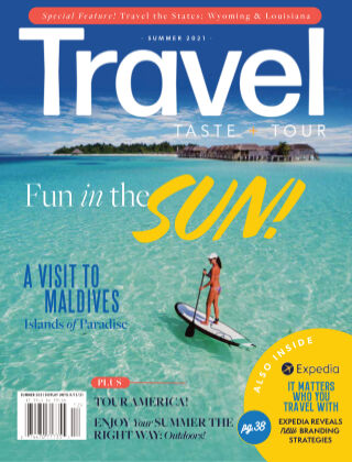 Travel, Taste and Tour Summer 2021