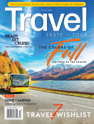 Travel, Taste and Tour Fall 2021