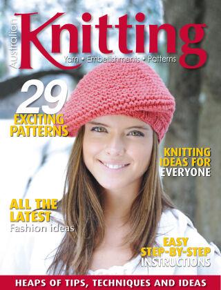 Australian Knitting volume 13 Issue 1