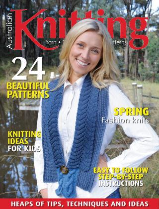 Australian Knitting Volume 13 Issue 3