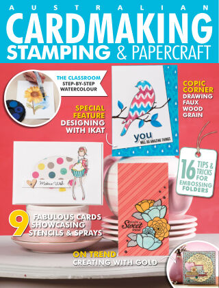 Australian Cardmaking, Stamping & Papercraft Volume 24 Issue 5
