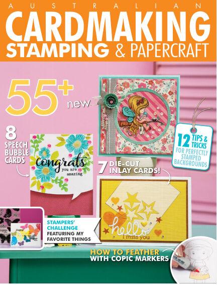 Australian Cardmaking, Stamping & Papercraft March 30, 2020 13:00