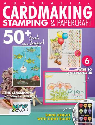 Australian Cardmaking, Stamping & Papercraft Volume 25 Issue 1