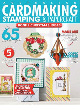 Australian Cardmaking, Stamping & Papercraft Volume 25 Issue 2