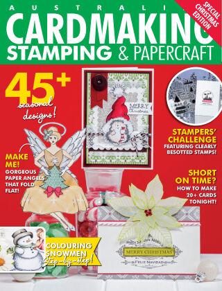 Australian Cardmaking, Stamping & Papercraft Volume 25 Issue 3