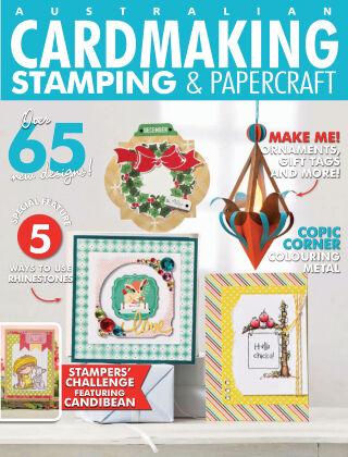 Australian Cardmaking, Stamping & Papercraft Volume 25 Issue 4