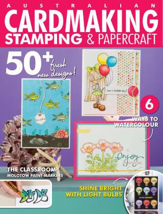 Australian Cardmaking, Stamping & Papercraft volume 25 Issue 5