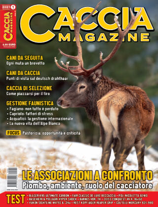 CACCIA MAGAZINE n° 1 - Gennaio