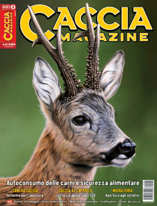 CACCIA MAGAZINE n° 8 - Agosto