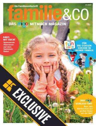 familie&co - das migo Mitmach Magazin Readly Exclusive Sommerspaß & Schule