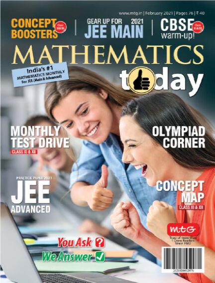 Mathematics Today February 09, 2021 18:30