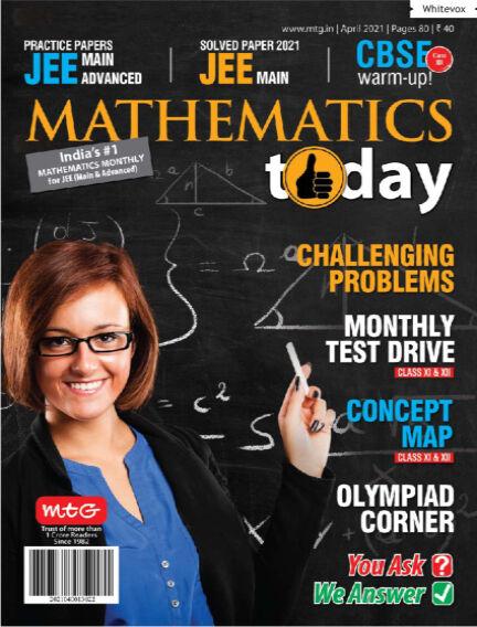 Mathematics Today April 09, 2021 18:30