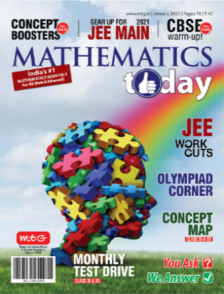 Mathematics Today Jan 2021