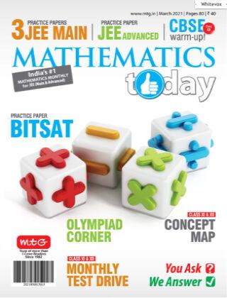 Mathematics Today Mar 2021
