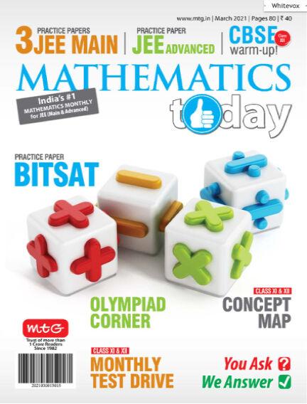Mathematics Today March 09, 2021 18:30