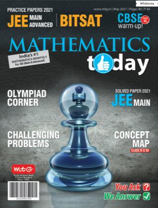 Mathematics Today May 2021