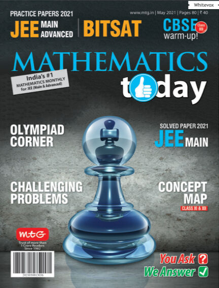 Mathematics Today May 09, 2021 18:30