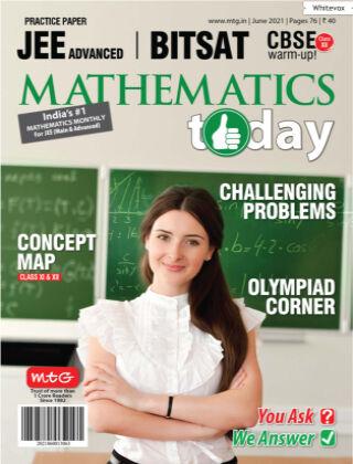 Mathematics Today June 2021