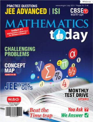 Mathematics Today July 2021