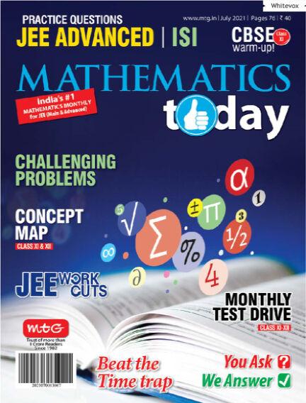 Mathematics Today July 06, 2021 00:00