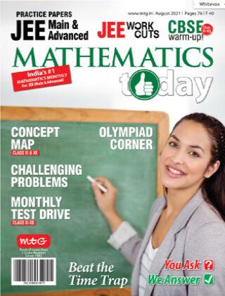 Mathematics Today Aug 2021