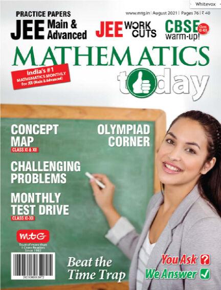 Mathematics Today August 02, 2021 00:00