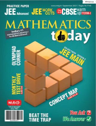Mathematics Today Sep 2021