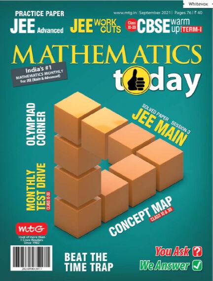 Mathematics Today September 03, 2021 00:00