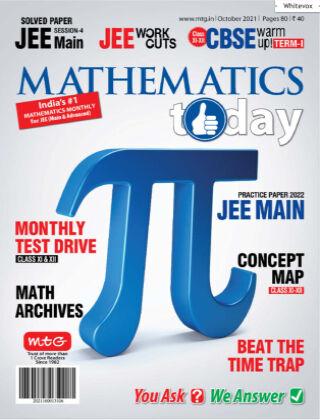 Mathematics Today Oct 2021