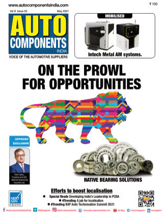 Auto Components India May 2021
