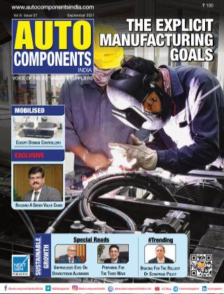 Auto Components India Sep 2021
