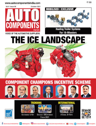 Auto Components India Oct 2021