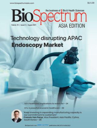 BioSpectrum Asia Aug 2021