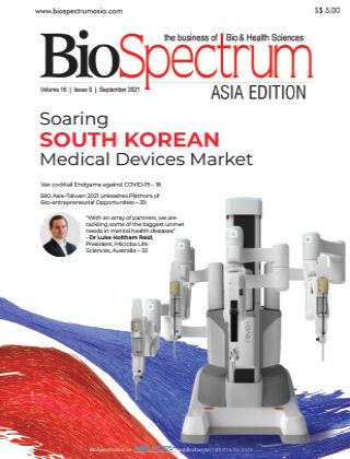 BioSpectrum Asia Sep 2021