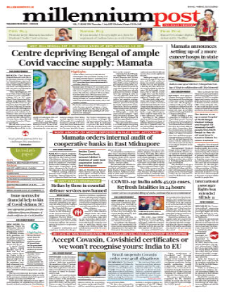 Millennium Post Kolkata