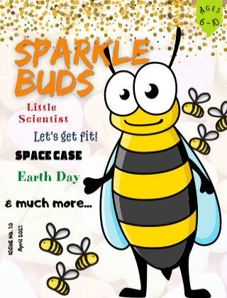 Sparkle Buds Kids Magazine (Ages 7-10) April