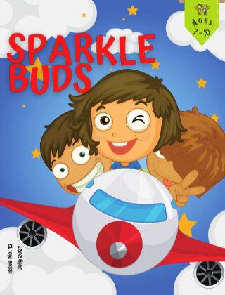 Sparkle Buds Kids Magazine (Ages 7-10) July 2021