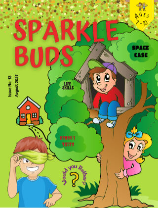 Sparkle Buds Kids Magazine (Ages 7-10) August 2021