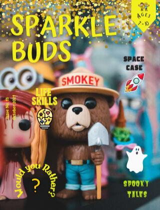 Sparkle Buds Kids Magazine (Ages 7-10) October 2021