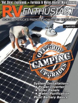 RV Enthusiast Magazine April 2021