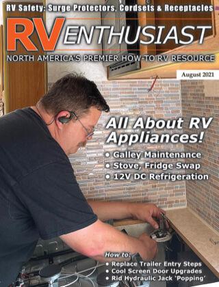 RV Enthusiast Magazine August 2021