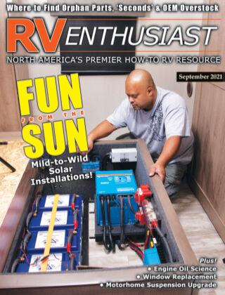 RV Enthusiast Magazine September 2021