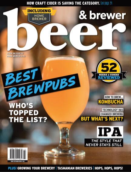 Beer & Brewer September 05, 2019 14:00