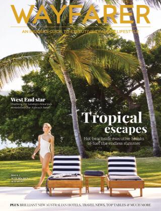 WAYFARER Executive Travel & Lifestyle magazine ISSUE 2