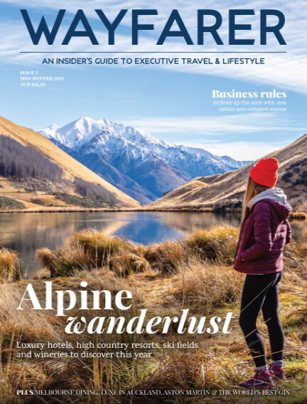 WAYFARER Executive Travel & Lifestyle magazine