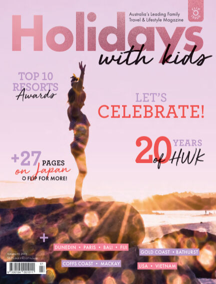 Holidays with Kids October 31, 2019 13:00