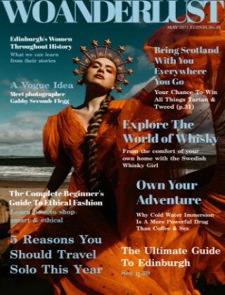 Woanderlust Magazine May 2021 Edinburgh